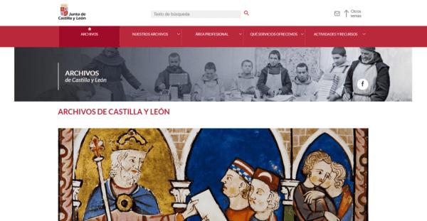 Portal de Archivos de Castilla y León