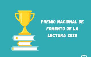 Premio Nacional de Fomento de la Lectura 2020