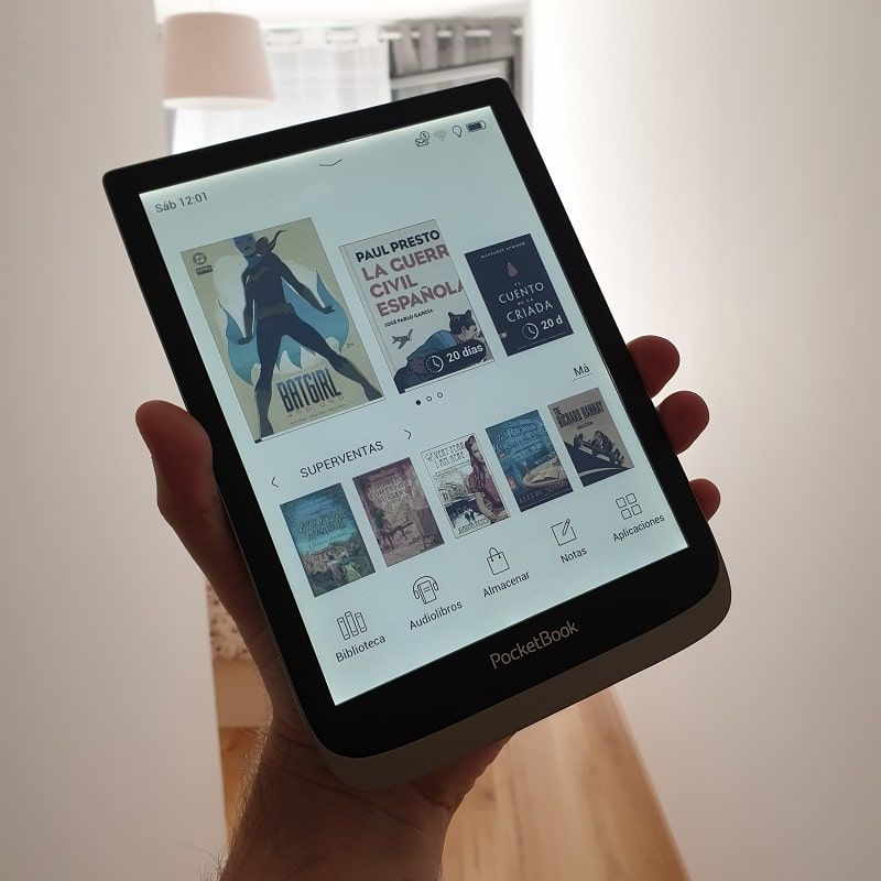 Principales características del PocketBook InkPad Color