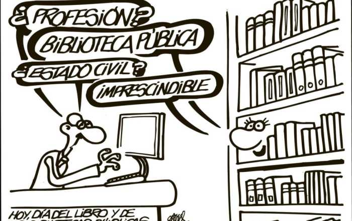 Profesión, biblioteca pública