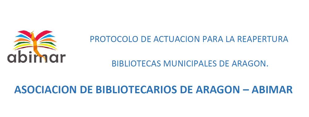 Protocolo reapertura bibliotecas ABIMAR