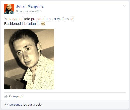 Publicación en grupo público de Facebook