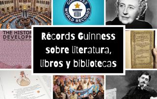 Récords Guinness sobre literatura, libros y bibliotecas