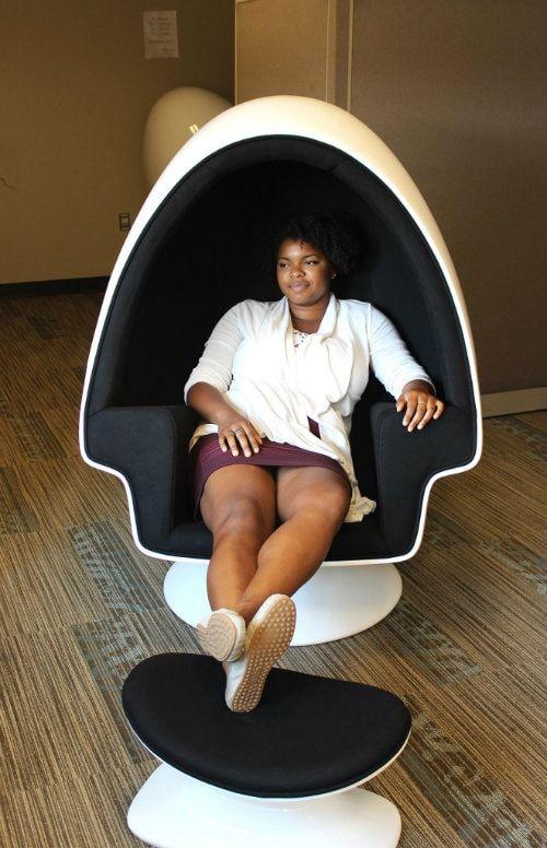 Relax en la biblioteca de la Universidad de Utah