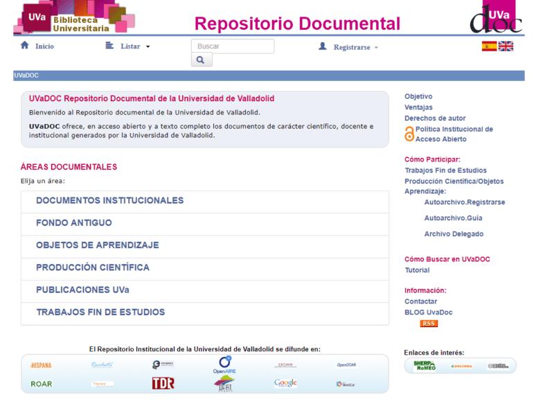 Repositorio Institucional Universidad de Valladolid - UVaDOC