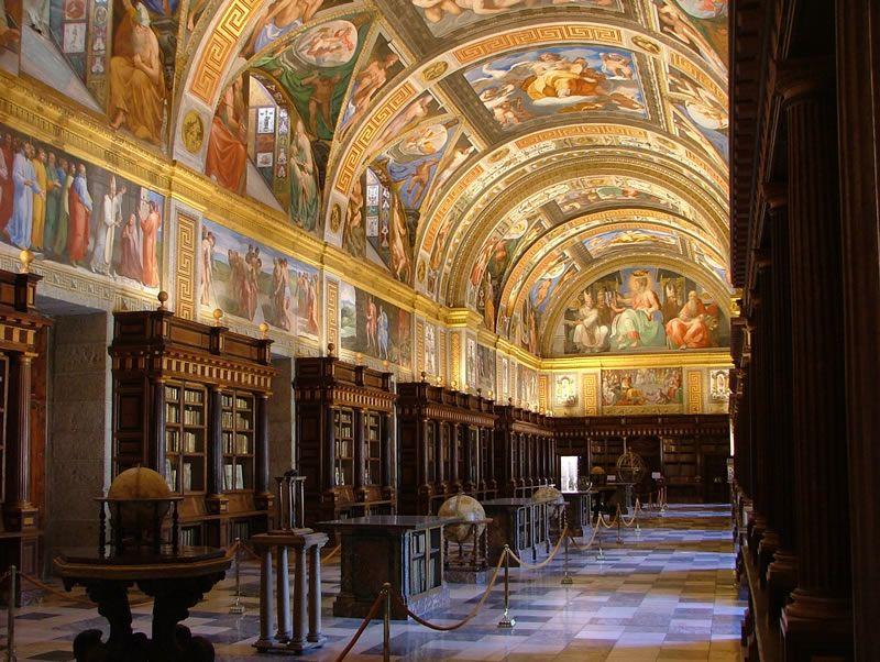 Salón Principal Real Biblioteca del Monasterio de San Lorenzo de El Escorial