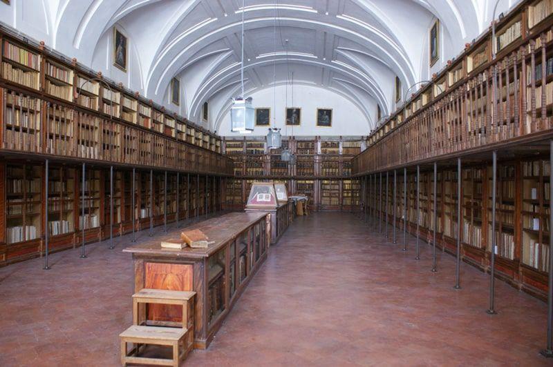Salón de Manuscritos de la la Real Biblioteca del Monasterio de San Lorenzo de El Escorial