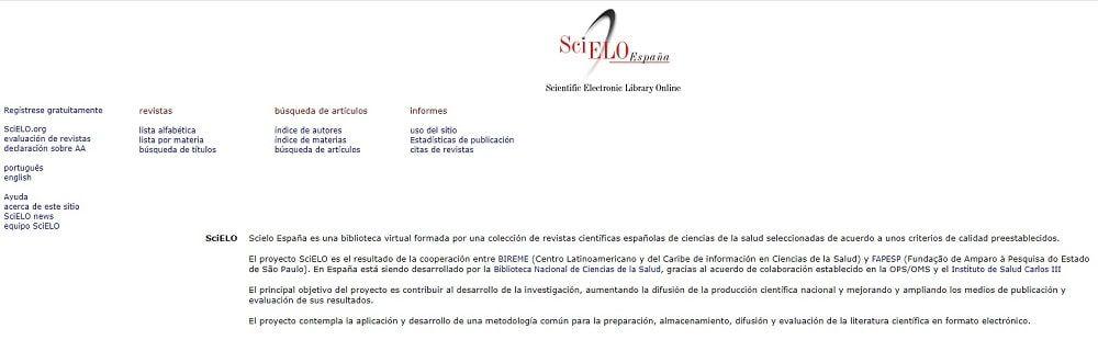 SciELO España - Scientific Electronic Library Online