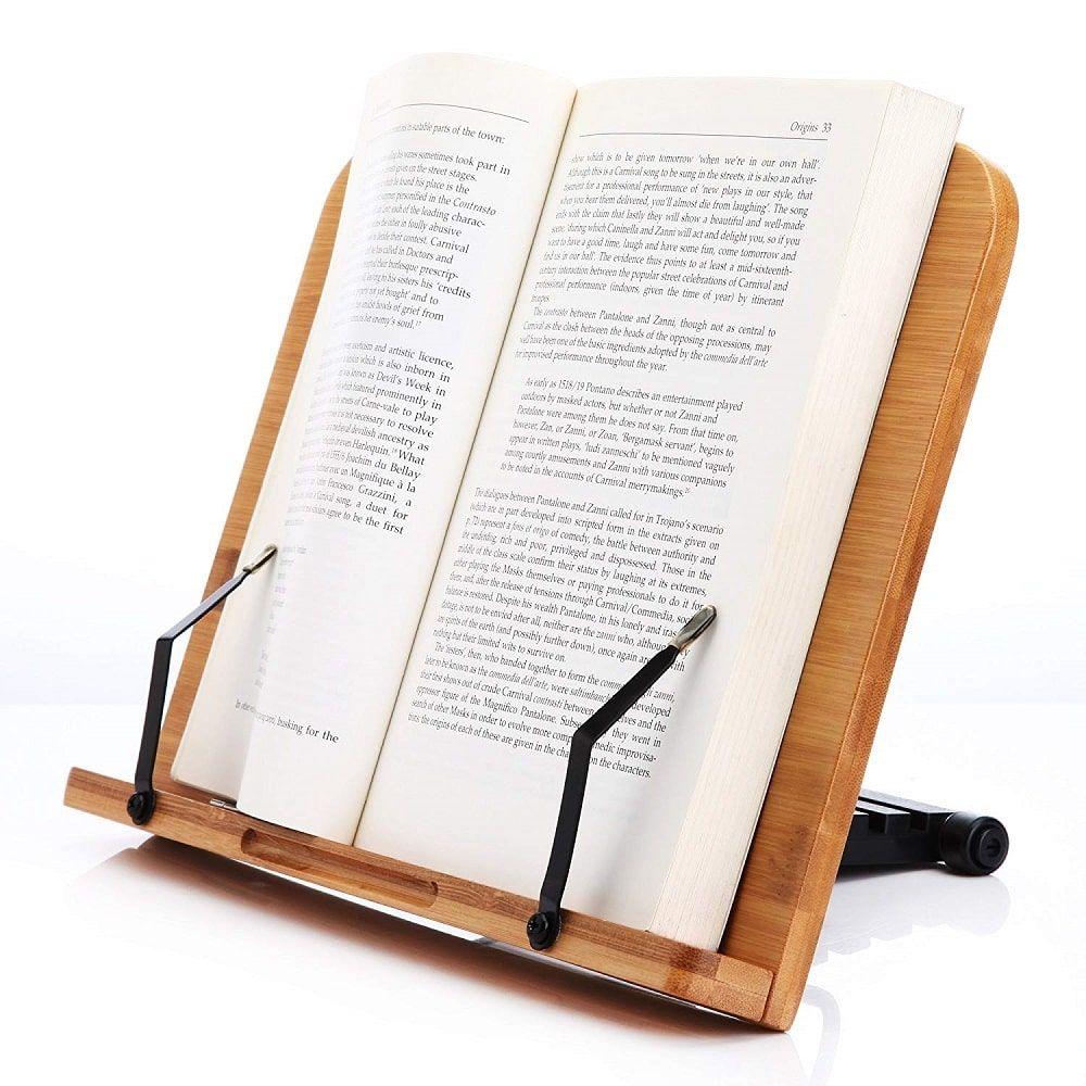 Soporte de libro para lectura
