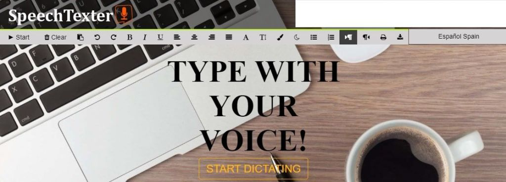 SpeechTexter voz a texto