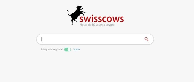 Swisscows es un motor de búsqueda seguro