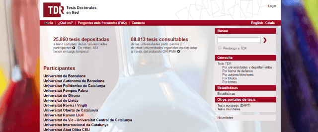 TDR - Tesis Doctorales en Red