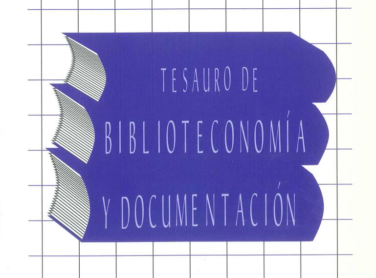 Tesauro em Biblioteca e Documentação