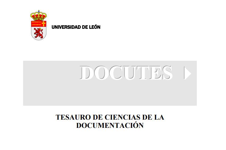 Thesaurus de Ciências da Documentação