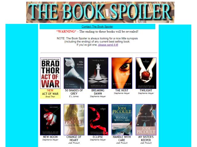 The Book Spoiler