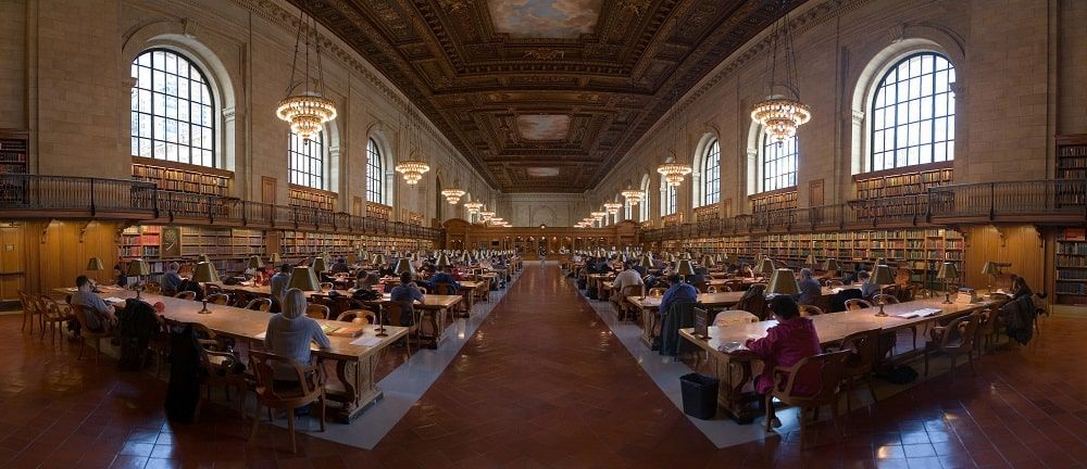 The New York Public Library. CC Diliff