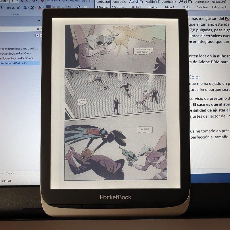 Visualización comic digital
