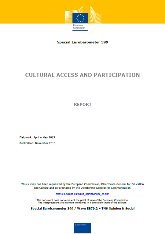Cultural access and participation
