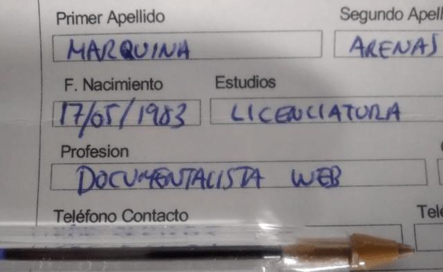 ¿Profesión? Documentalista Web