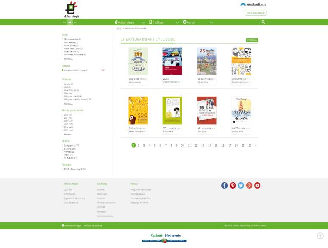 eLiburutegia - Literatura infantil y juvenil