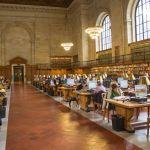 Atención, las bibliotecas no son para leer libros