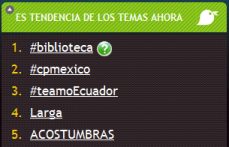 Trending Topic en español