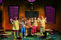 """…there was something about the energy on opening night of Sideways Stories From Wayside School…that brought back the glory days of the [Civic Theatre of Central Florida] once again."" ""…If you heard someone hooting with laughter, that was probably me…All of [the actors] are terrific and they are matched by Michael Marinaccio's mishap-prone Myron and by Julie Snyder…"" ~Orlando Sentinal, Elizabeth Maupin"