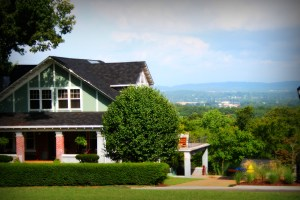 Missionary Ridge home with view