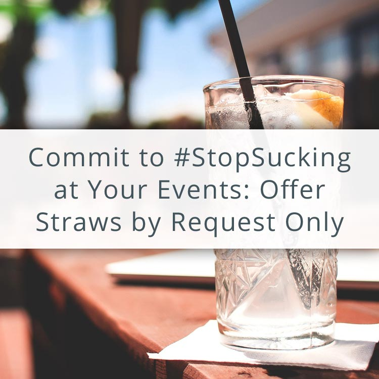 Post title over photo of beverage on bar with straw