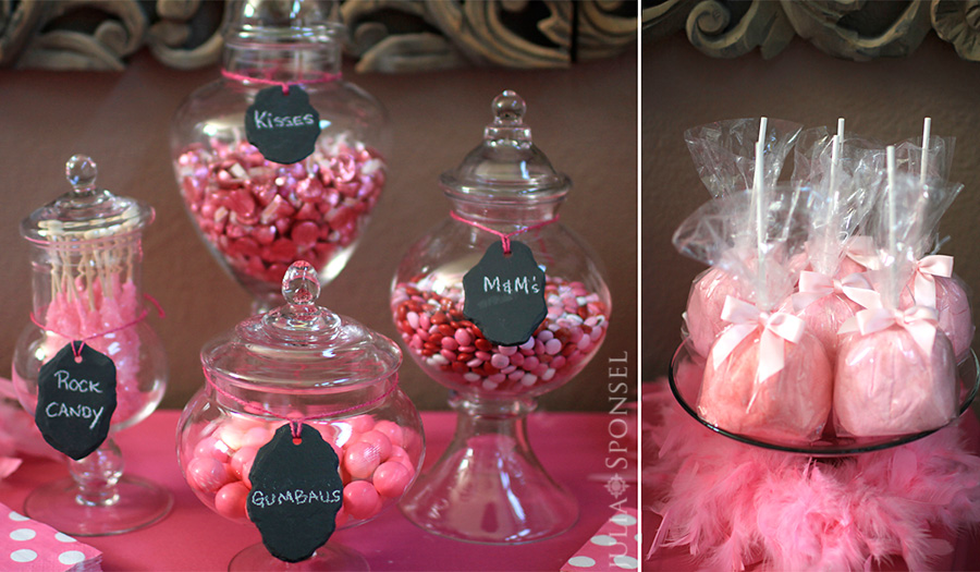 bridal shower poem candy bar buffet