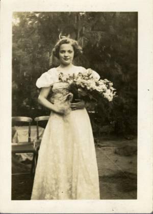 May Queen Mary Grace Scheer, 1938