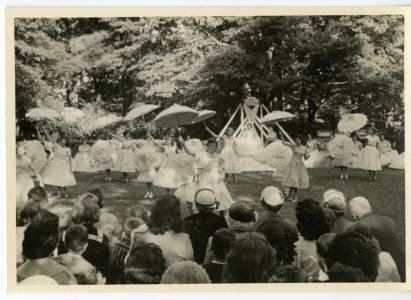 May Day Parasols, 1958