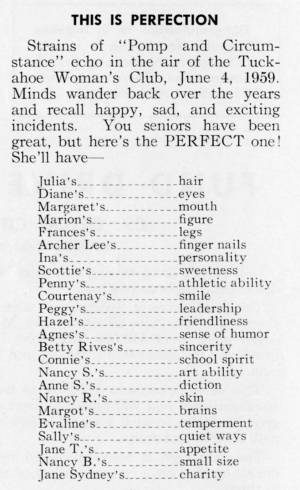 """This Is Perfection"" in The Match, May 1959"