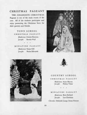 """Christmas Pageant"" in the 1959 Torch, p. 66"