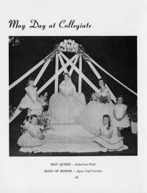 """May Day at Collegiate"" in the1959 Torch, p.68"