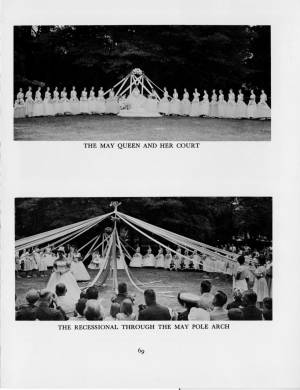 """""""May Day at Collegiate"""" in the1959 Torch, p.69"""