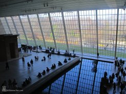 Inside MOMA in New York City