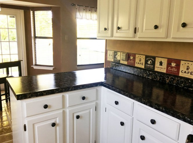 From Peach To Giani Countertop Paint In