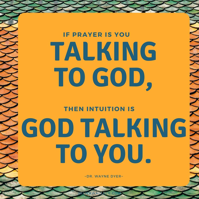 intuition is god talking to you