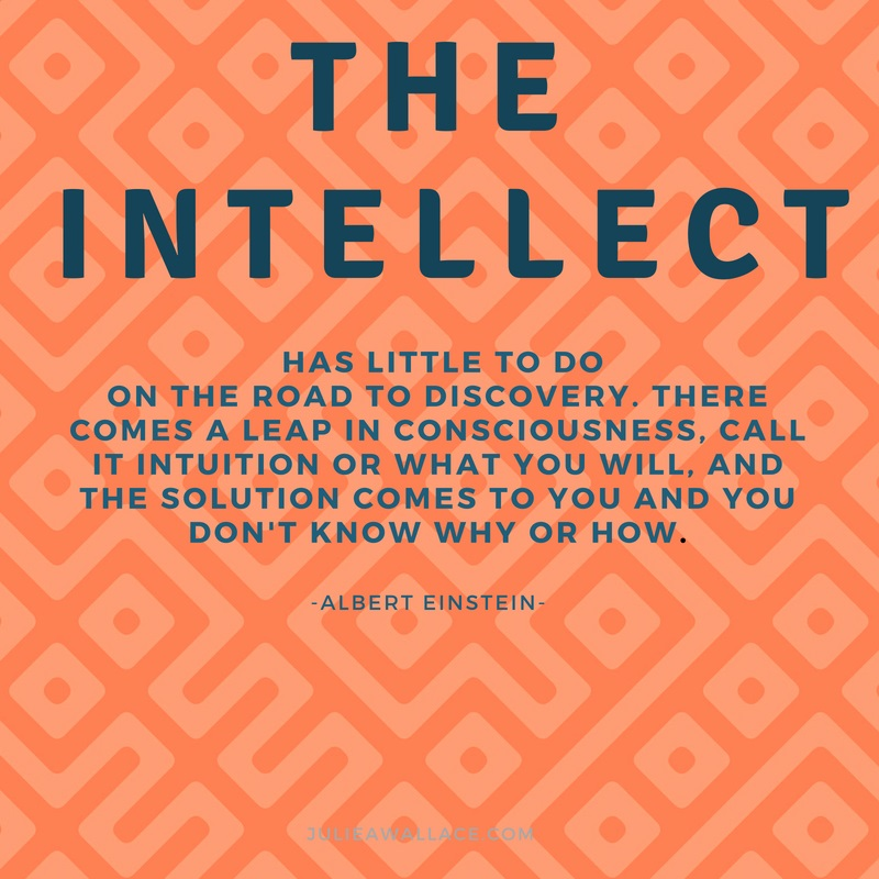 the intellect has little to do