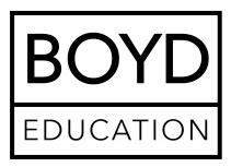 Julie Boyd www.julieboyd.co.uk Boyd Education
