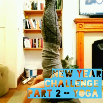 New year challenge – more stretching and yoga