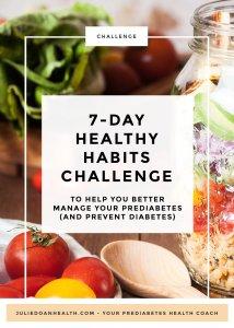 healthy habits reverse prediabetes prevent diabetes