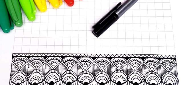 mandala grid easy patterns for drawing mandalas