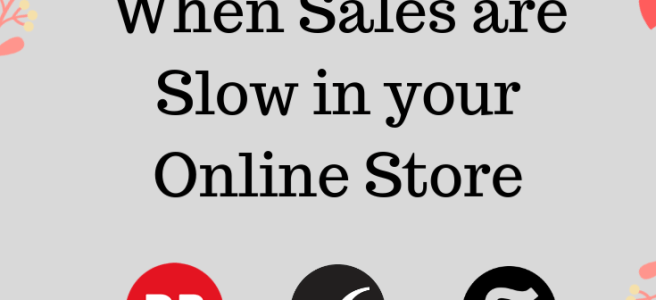 what to do when sales are slow on print on demand