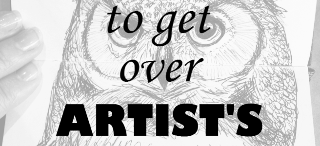 getting over artists block