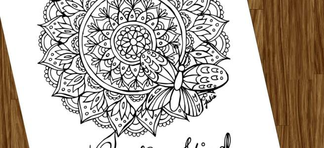 butterfly adult coloring page free download