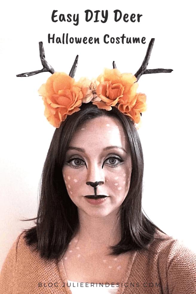 easy diy deer fawn halloween costume