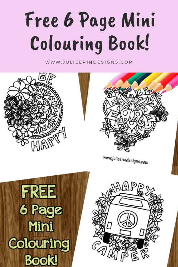 free mini colouring book