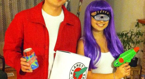 fry and leela couples halloween costume
